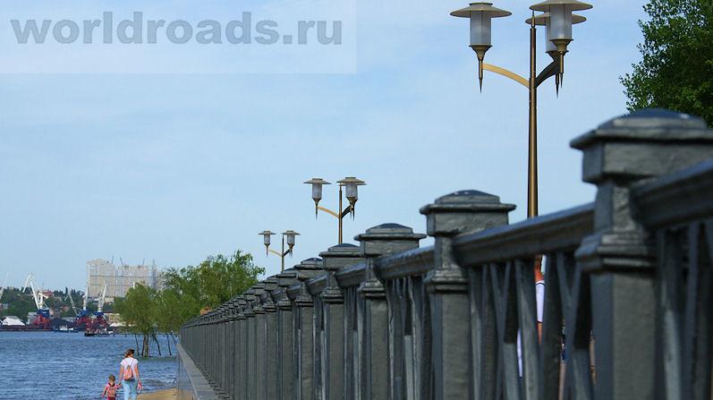 Новая набережная в Ростове-на-Дону