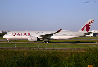A7-ALU Airbus A350 Qatar