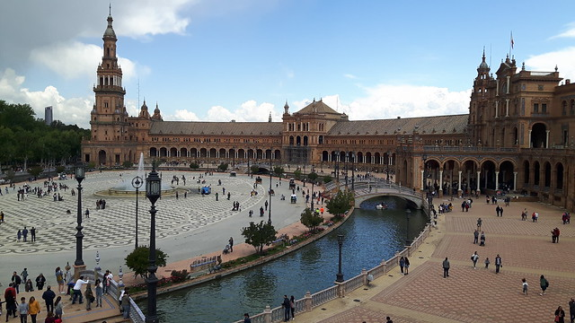 Plaza Espana, Seville, Spain