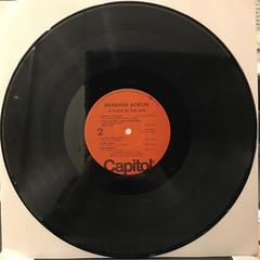 BARBARA ACKLIN:A PLACE IN THE SUN(RECORD SIDE-B)