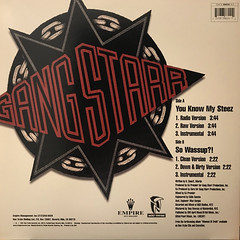 GANG STARR:YOU KNOW MY STEEZ(JACKET B)