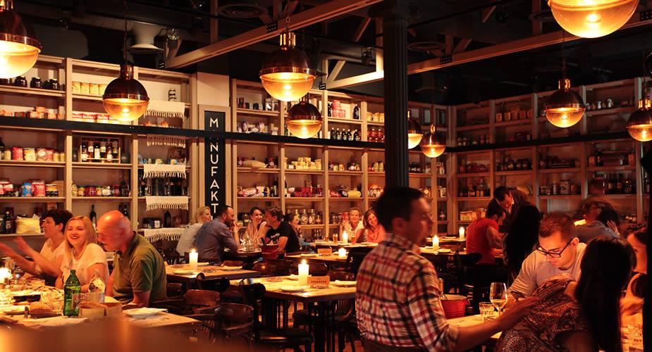 Leuk uit eten in Belgrado, leuk restaurant in Belgrado: Manufaktura (foto met dank aan Manufaktura) | Mooistestedentrips.nl