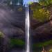 Latourell Falls by Konejita