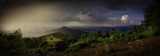 Burg Hohenzollern im Regen