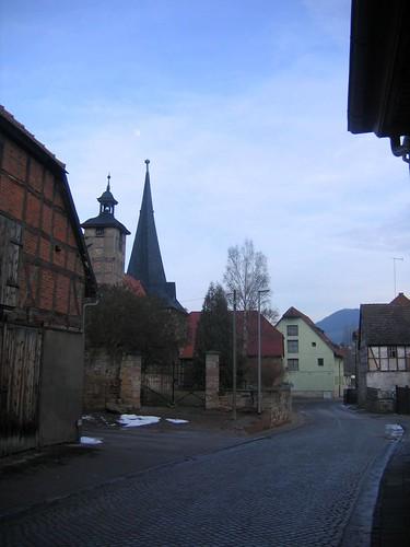 Seega, Dorfstrasse