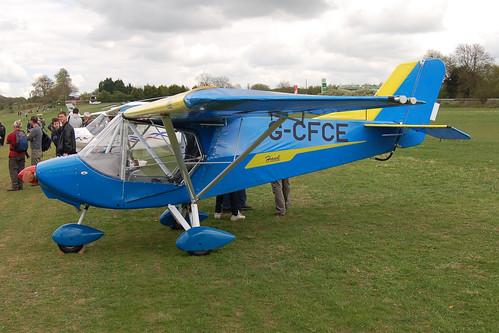 G-CFCE Raj Hamsa X'Air Hawk [PFA 340-14751] Popham 010510