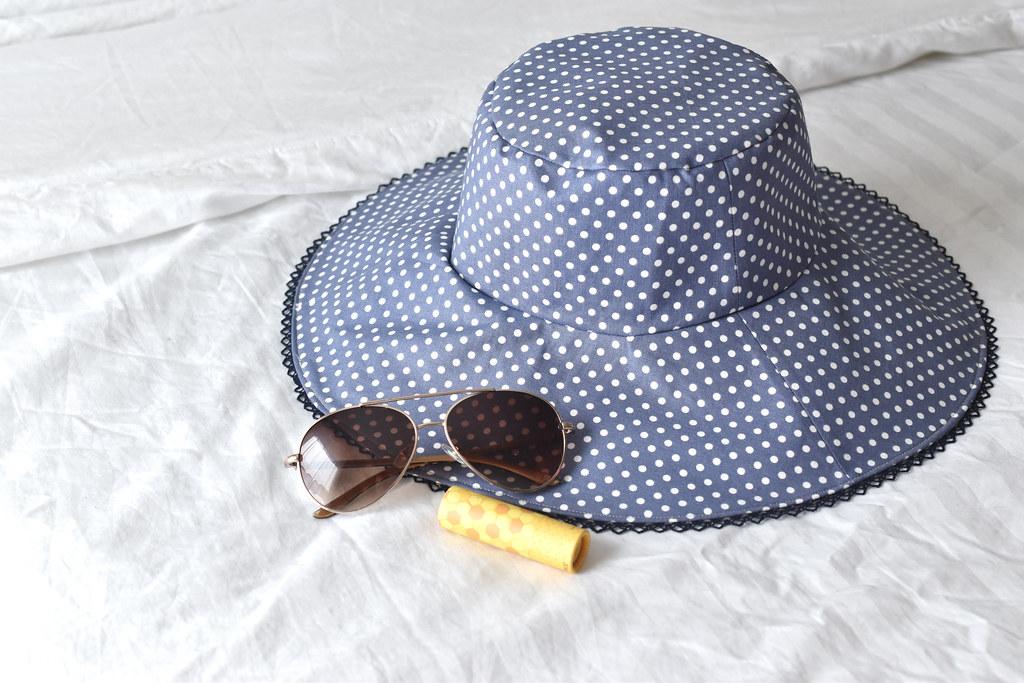 Reversible Linen Sun Hat