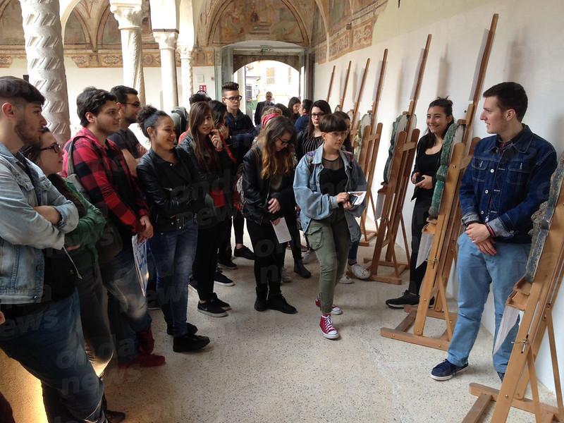 Liceo aertistico Pomponio Leto e tesori della Campania (2)