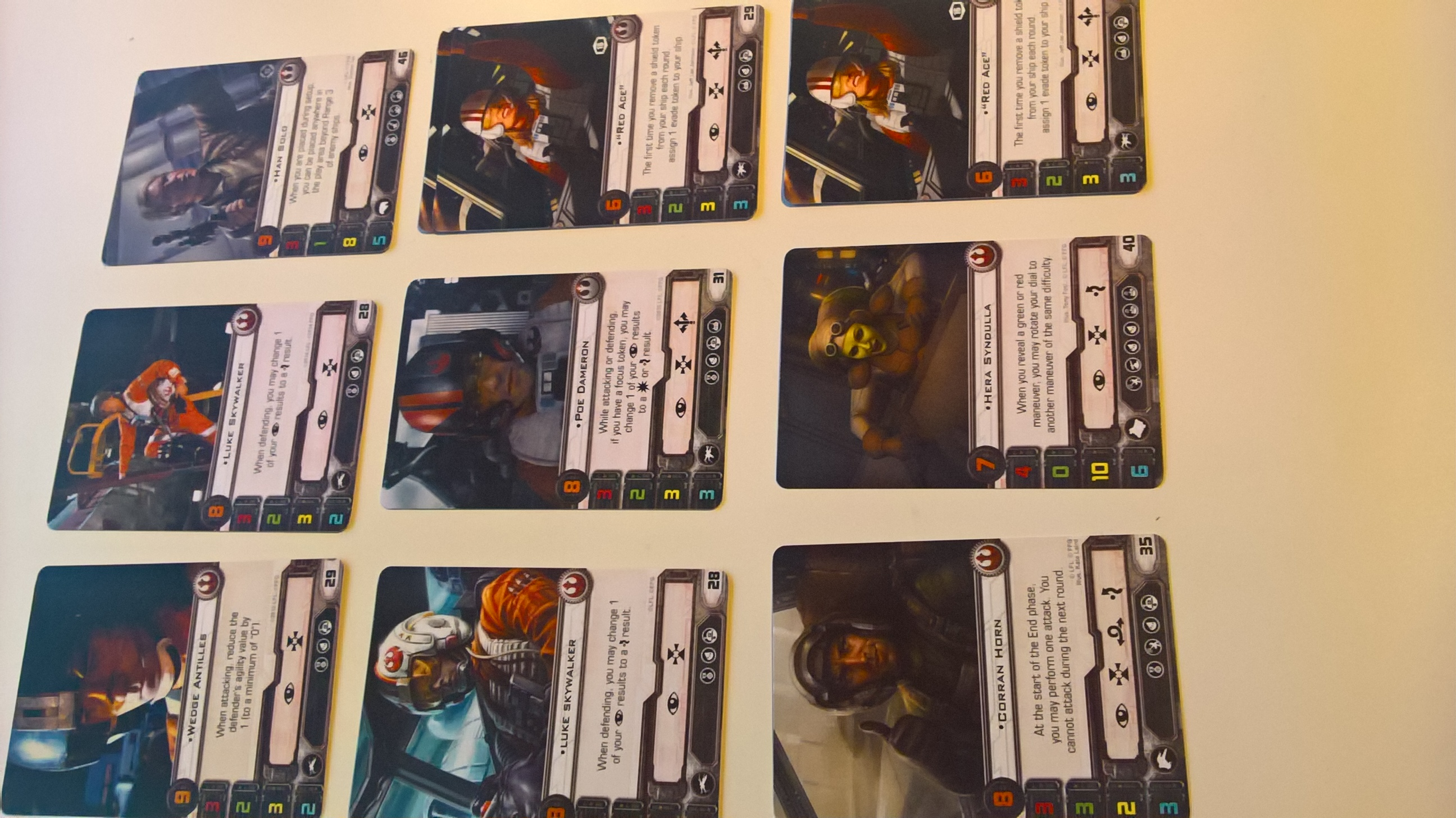 9 Rebel alt art cards