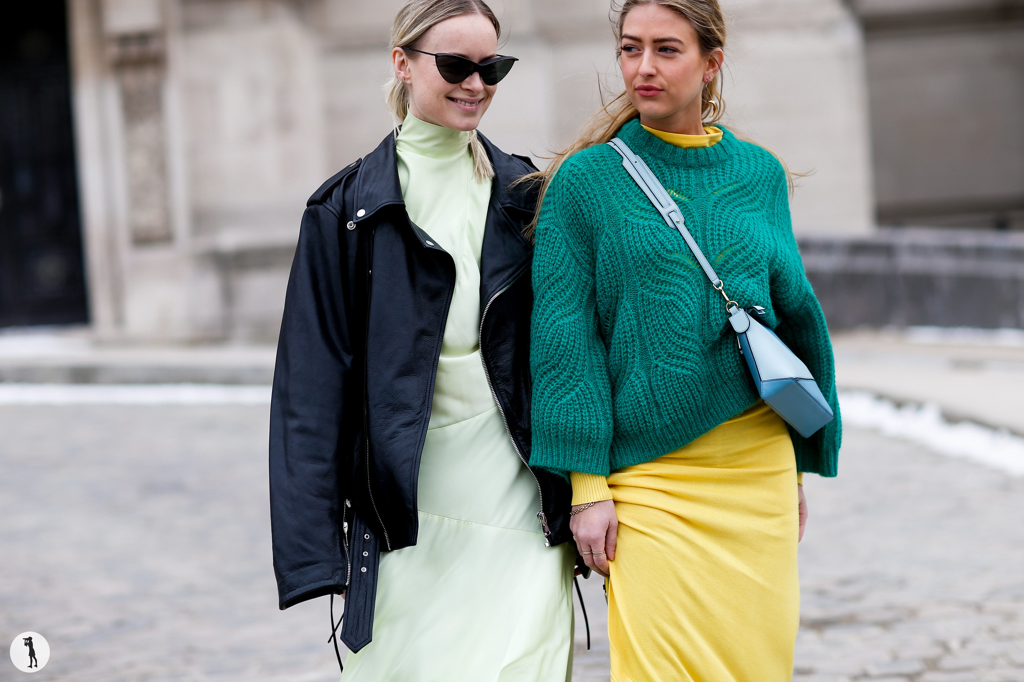 Thora Valdimars and Emili Sindlev - Paris Fashion Week Fall-Winter 2018-2019 (1)