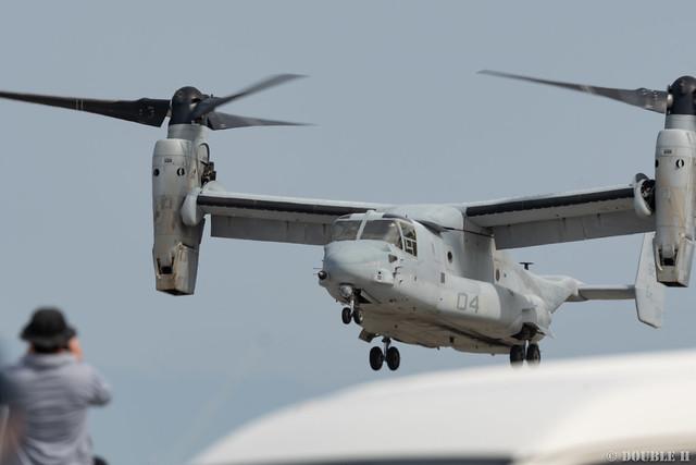 Iwakuni FD 2018 (144) VMM-262 MV-22B (Osprey) ET-04/168279