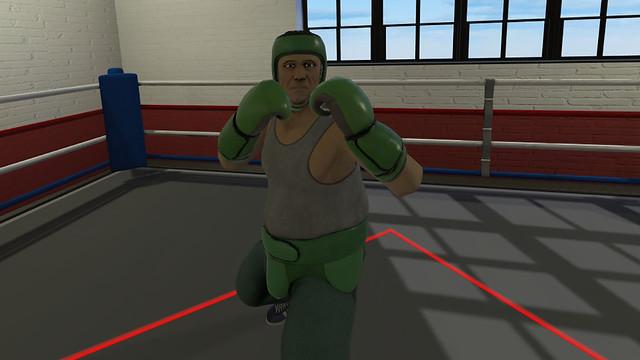 Thrille of Fight - Sparing partner