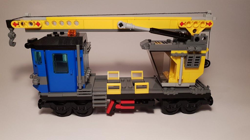 MOC] 7898 Crane - version 2 - LEGO Train Tech - Eurobricks