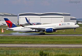 F-WZNE Airbus A350 Delta