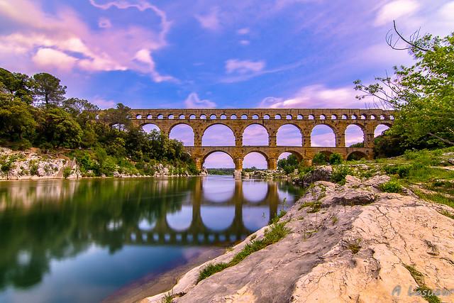 Le pont du Gard -France-