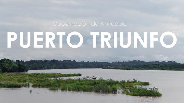 Reportaje Puerto Triunfo, Antioquia