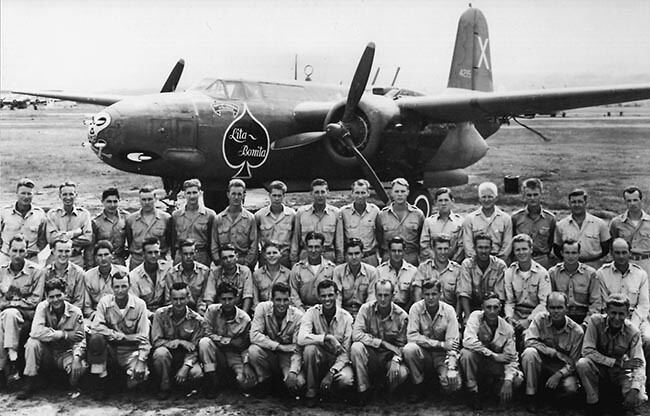 389th Squadron officers