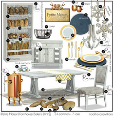 {Petite Maison} Farmhouse Bakers Dining Gacha