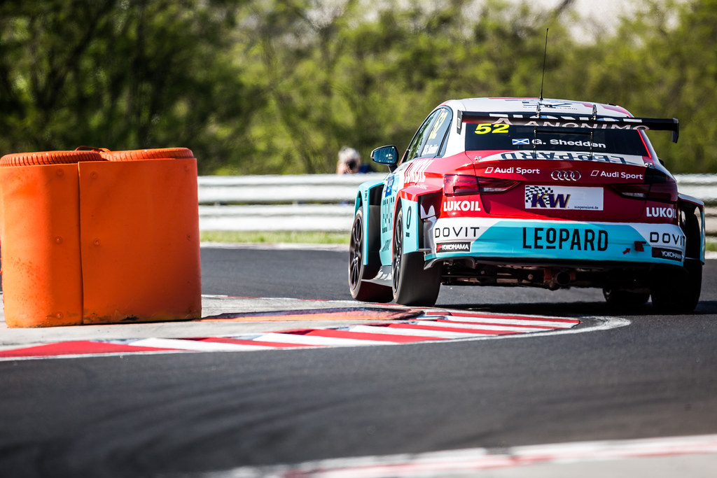 52 SHEDDEN Gordon (GBR), Audi Sport Leopard Lukoil Team, Audi RS3 LMS, action during the 2018 FIA WTCR World Touring Car cup, Race of Hungary at hungaroring, Budapest from april 27 to 29 - Photo Thomas Fenetre / DPPI