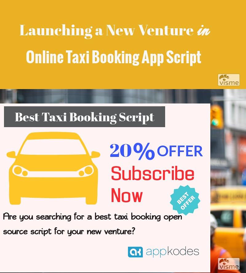 Best Online Taxi Booking Open Source Script 20% OFFER Uber