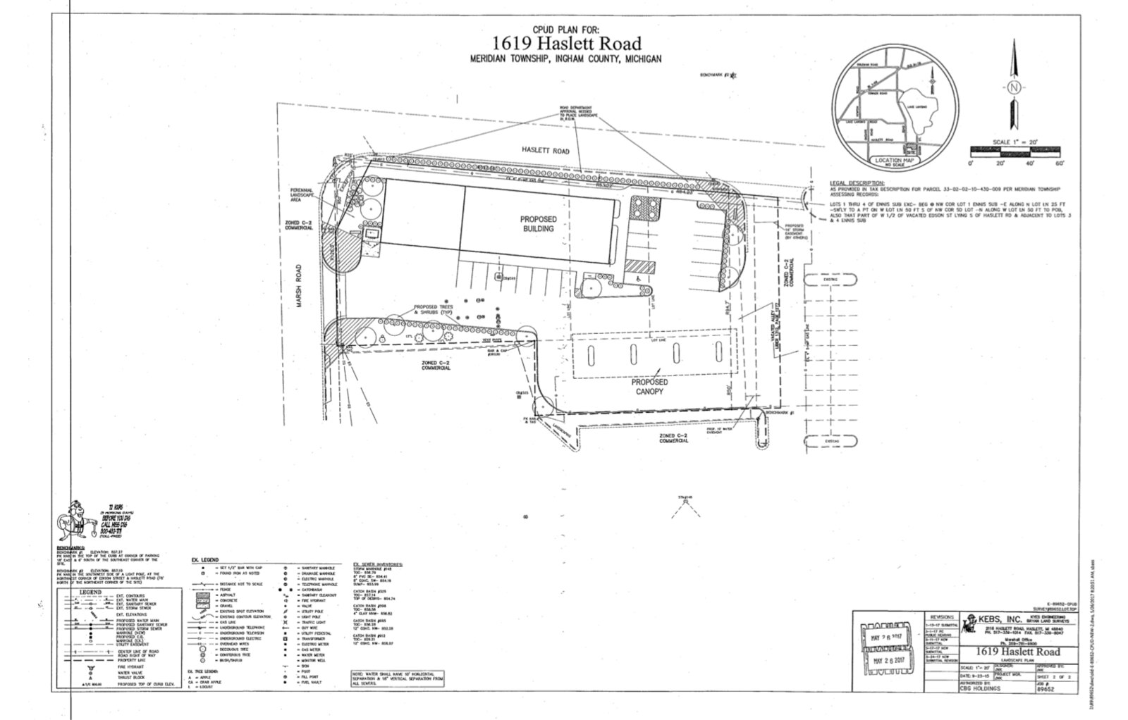 Site Plan Review Appeal of Haslett Marathon Redevelopment Tabled – What Is A Site Plan Review