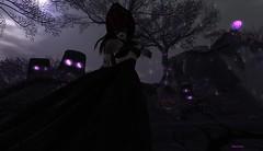 A vampire...