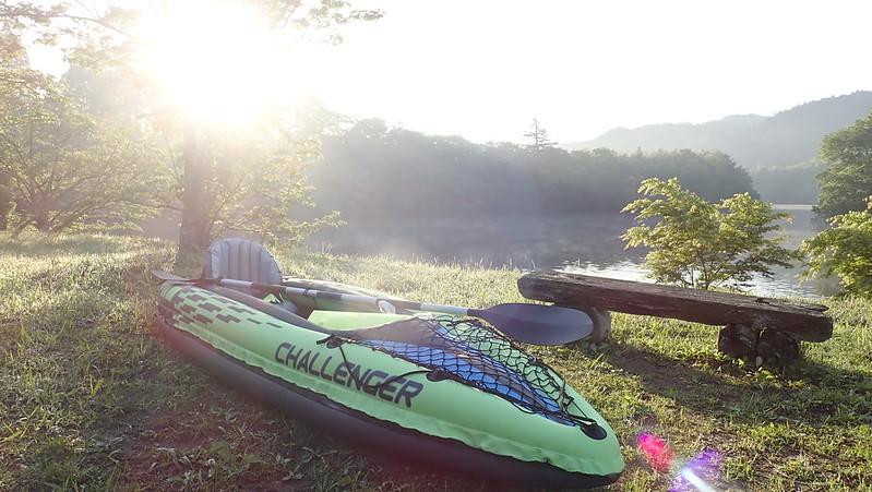 亀山湖カヌー