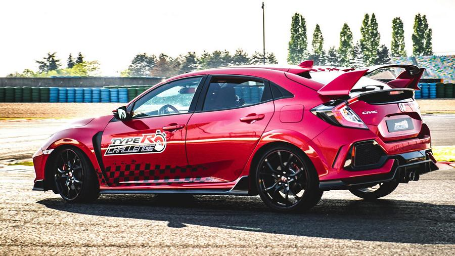 Honda Civic Type R rekord Magny Cours 3