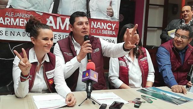 Rueda prensa Morena