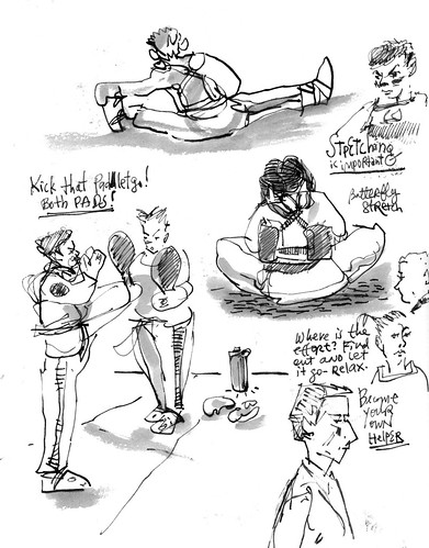 Sketchbook #113: My Life Drawing Class