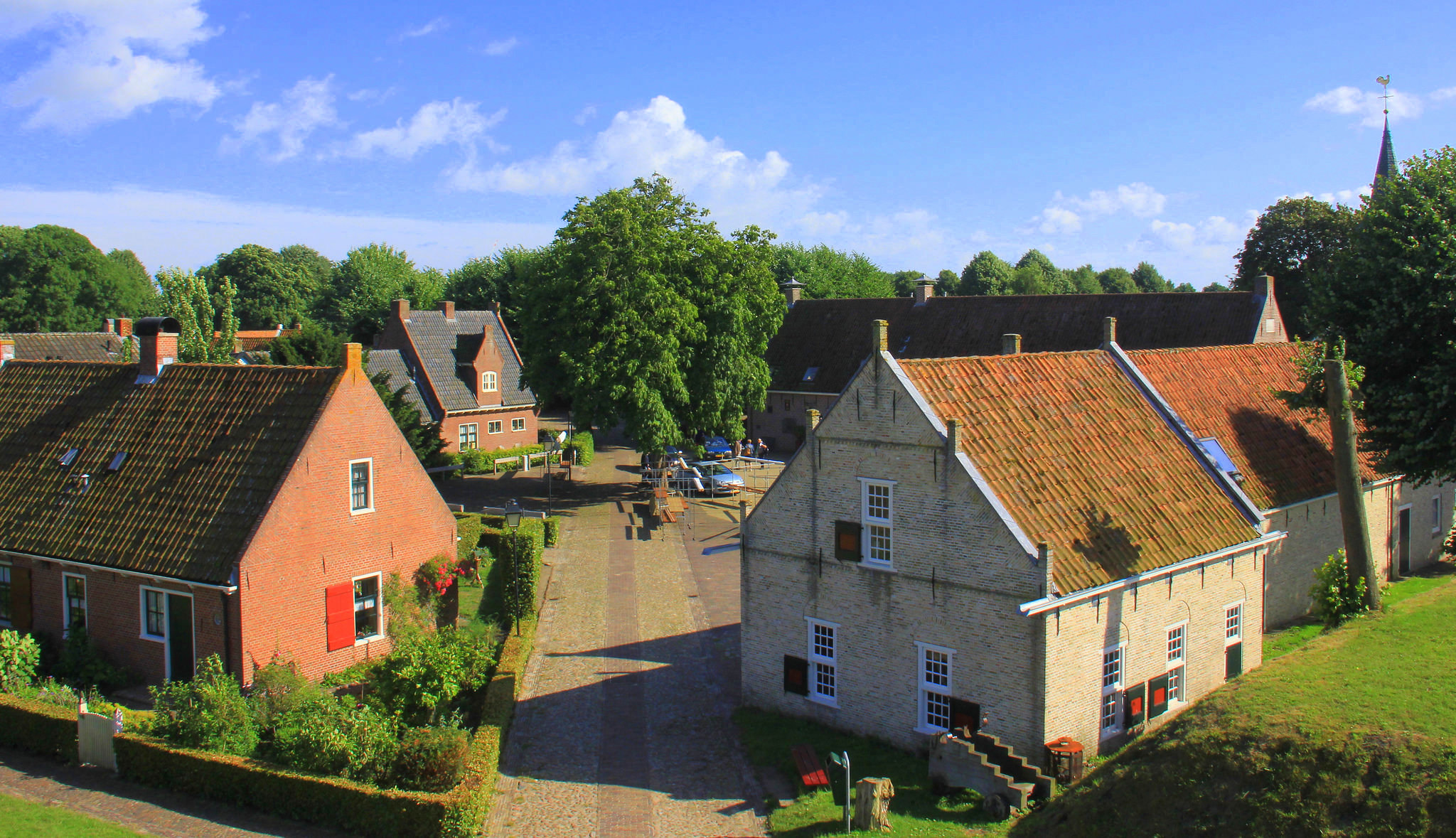 Giethoorn village is well planned