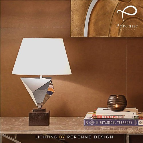 Origami-Inspired Table Lamp by Perenne Design