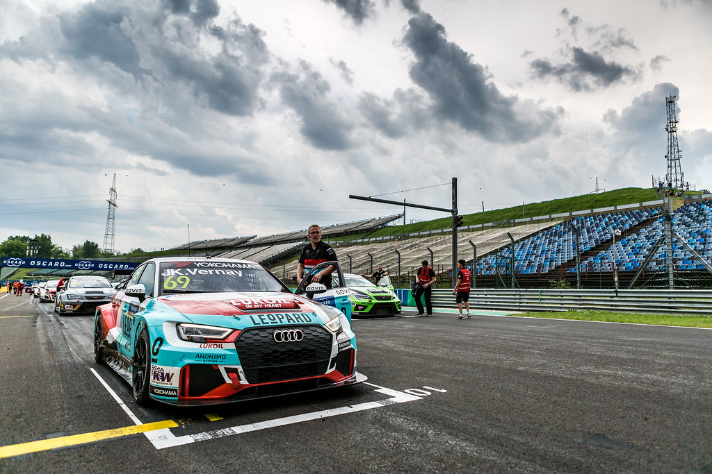 69 VERNAY Jean-Karl (FRA), Audi Sport Leopard Lukoil Team, Audi RS3 LMS, action during the 2018 FIA WTCR World Touring Car cup, Race of Hungary at hungaroring, Budapest from april 27 to 29 - Photo Thomas Fenetre / DPPI