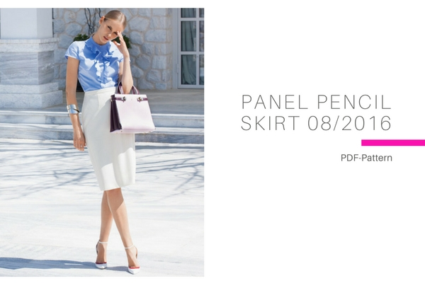 Panel Pencil Skirt