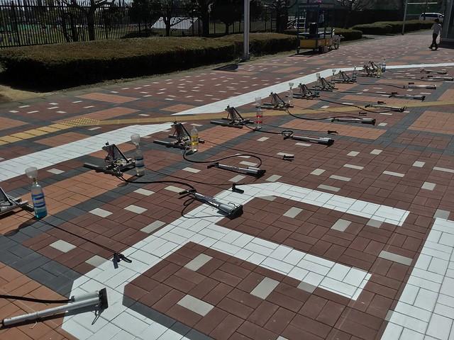 岐阜かかみがはら航空宇宙博物館 屋外展示エリア 水ロケット IMG_2407