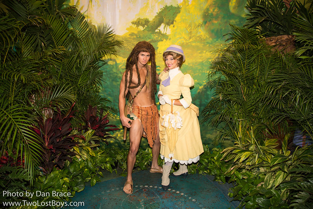 Meeting Tarzan and Jane
