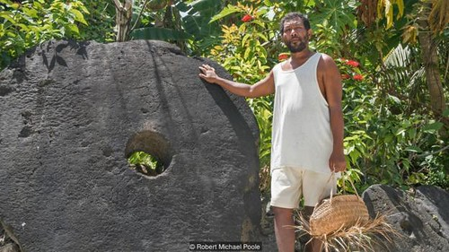 Rai stone on Yap Island