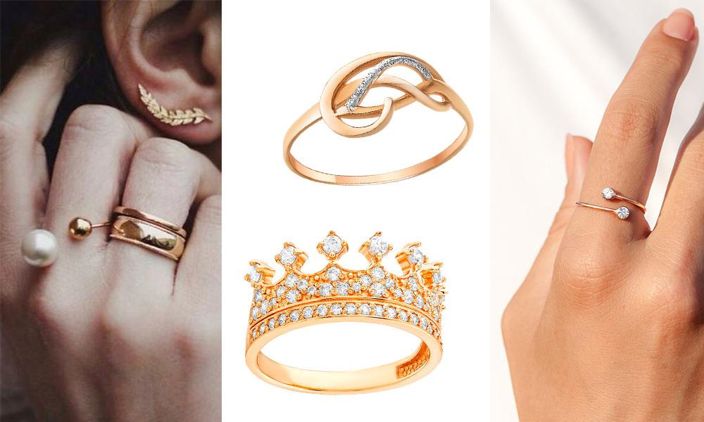 кольца от злато юа