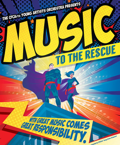 'Music to the Rescue!' Presented by the CFCArts Young Artists Orchestra