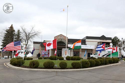 View of Sant Nirankari Satsang Bhawan, Toronto