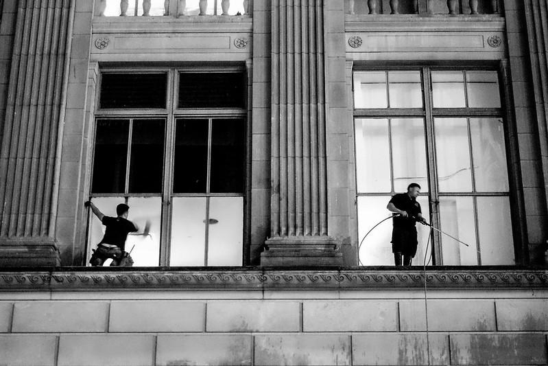 Window Washers, New York