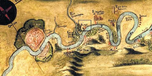 Siglos XVI-XVII. El puerto de Parra