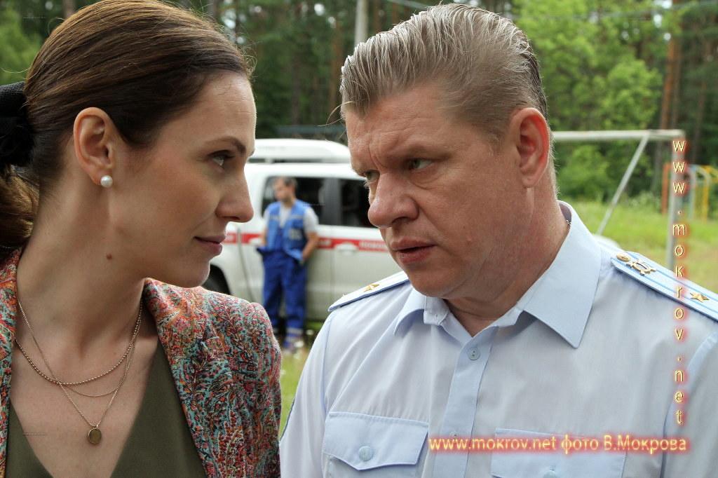 Дмитрий Блохин Актери На сьемках «Морозова сезон первый»