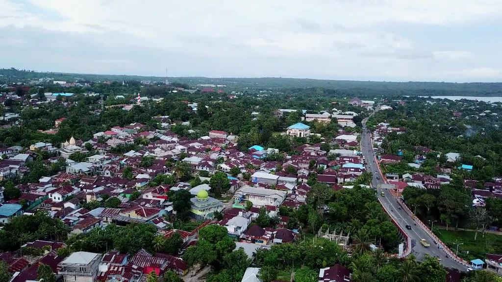 Tual City Landscape, Maluku