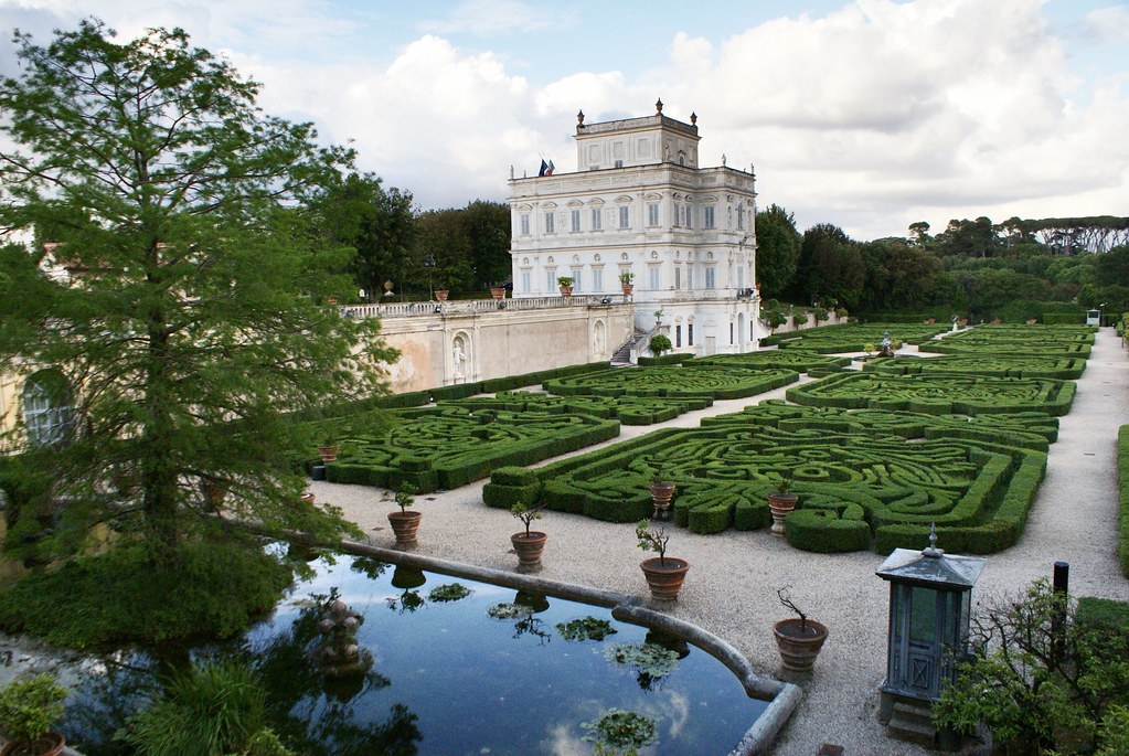 Villa Doria Pamphili à Rome.