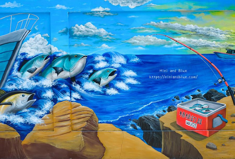 清水 梧棲 景點 台電彩繪牆15