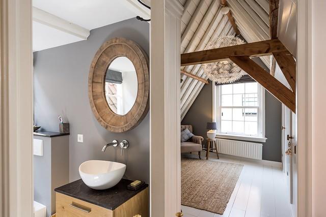 Badkamer slaapkamer landelijke stijl