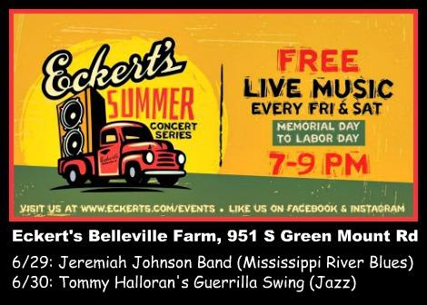 Eckert's Summer Concerts 6-29-18