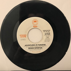 MINNIE RIPERTON:ADVENTURES IN PARADISE(RECORD SIDE-A)