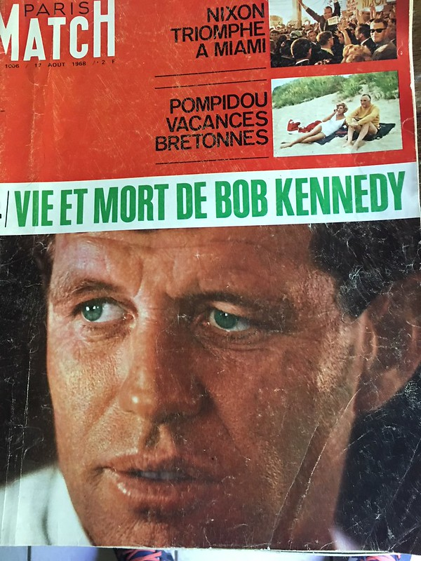 Robert Kennedy Paris Match 1968